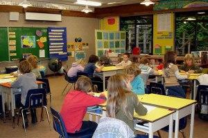 hornby school classroom