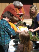 Earth Day activities with Natural History Stewards.