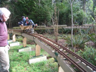 Tressle train track.
