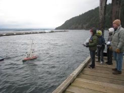 Wind, rail, flight - dock sailing